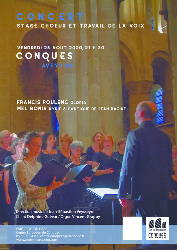 affiche concert stage chant choral 2020