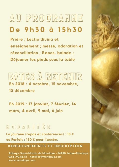 Mondaye pour Dieu 2018 2019 page 2