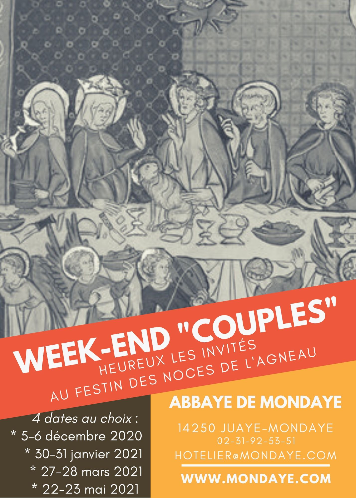 2020 2021 tract Week end Couples recto